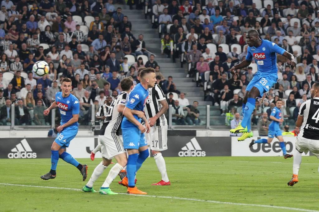 Juventus-Napoli, gol Koulibaly