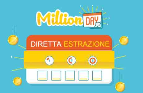 million day estrazione oggi