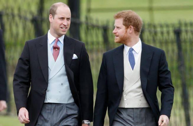 Royal Wedding, Harry e William