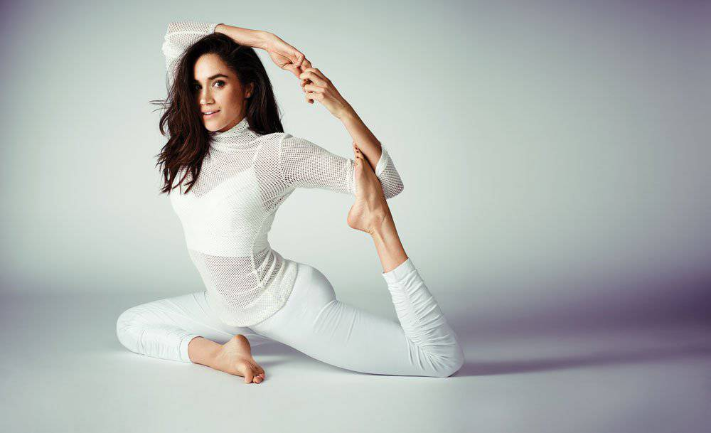 Royal Wedding, Meghan Markle fa yoga