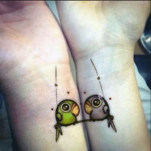 tatuaggio coppia