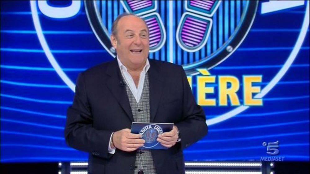 """Gerry Scotti torna con """"Caduta Libera"""" su Canale 5 (Getty Images)"""