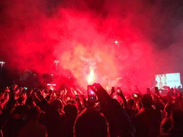 festa Juve-Napoli
