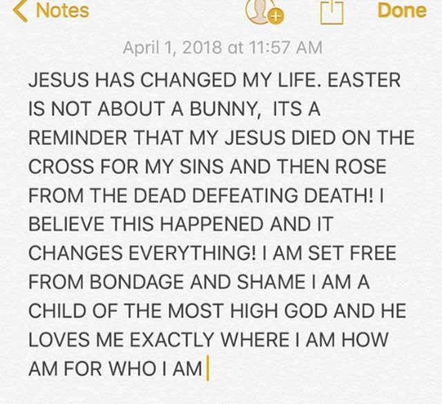 Justin Bieber e la religione