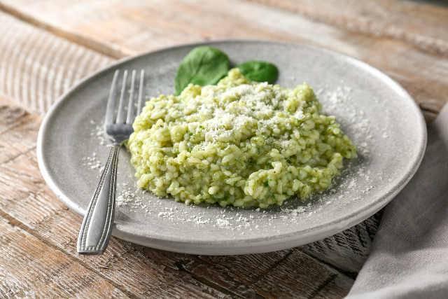 risotto zucchine e gorgonzola