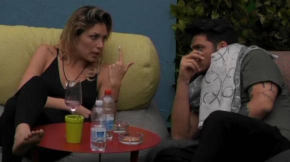 Grande Fratello: Aida Nizar e Marco Ferri, nuovo confronto tra i due