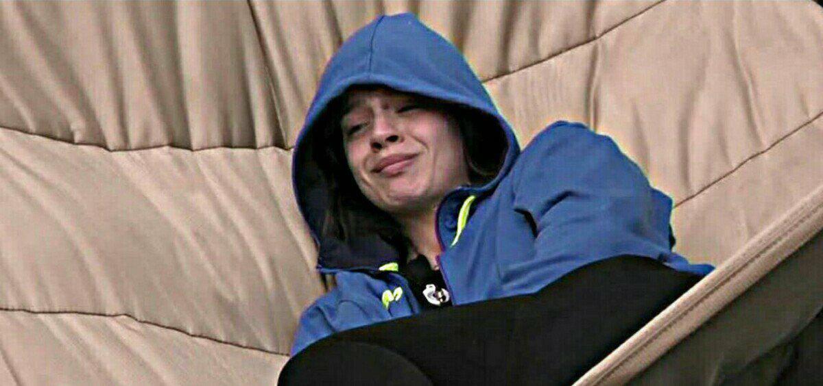 Lucia Orlando, crollo emotivo per l'eliminazione di Baye Dame