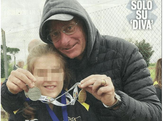 Paolo Bonolis in lacrime: orgoglioso papà per la medaglia della figlia Silvia