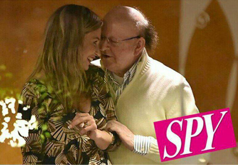 Massimo Boldi e Veronica Rega, è nato l'amore