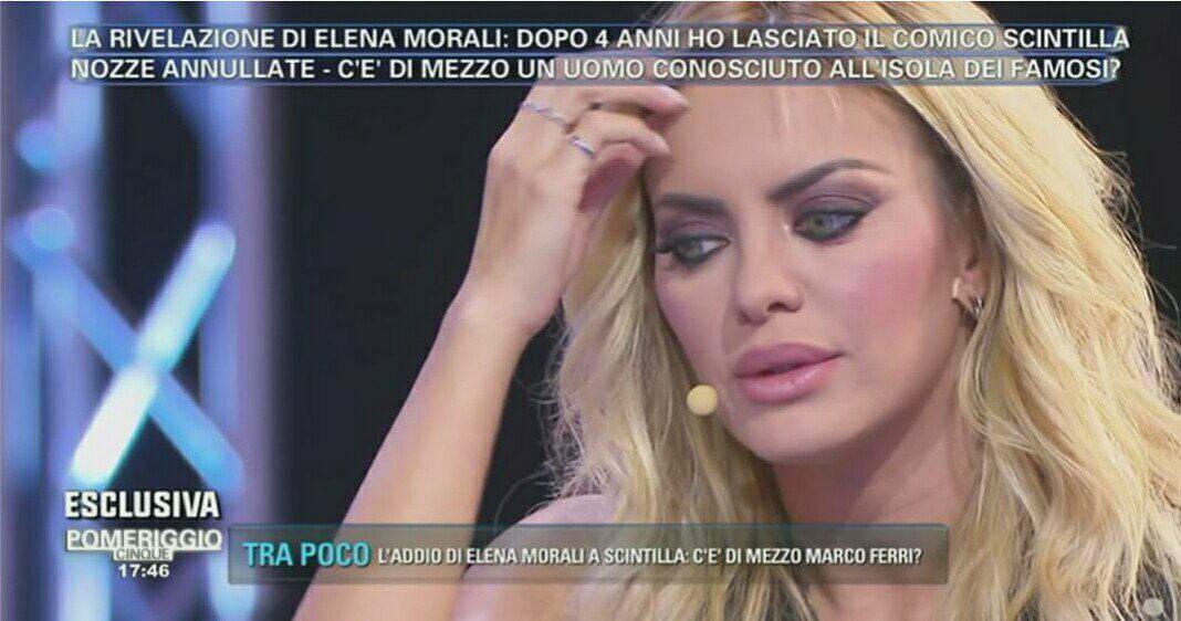 Elena Morali a Pomerigigo Cinque: ecco perchè ho lasciato Scintilla