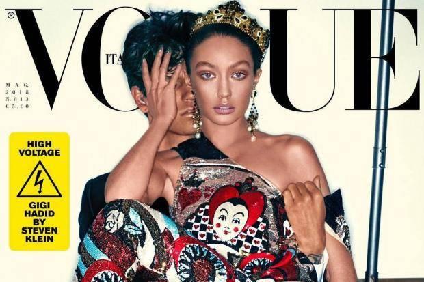 Gigi Hadid, cover Vogue Italia