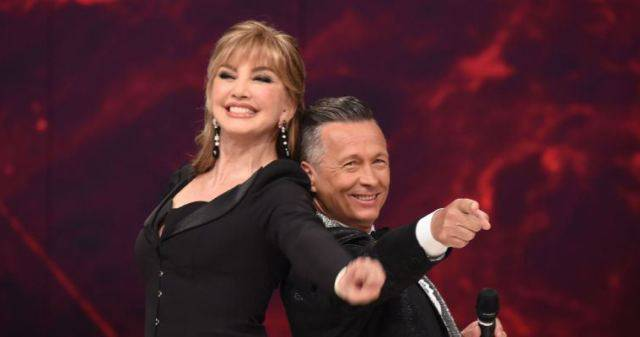 Milly Carlucci Paolo Belli