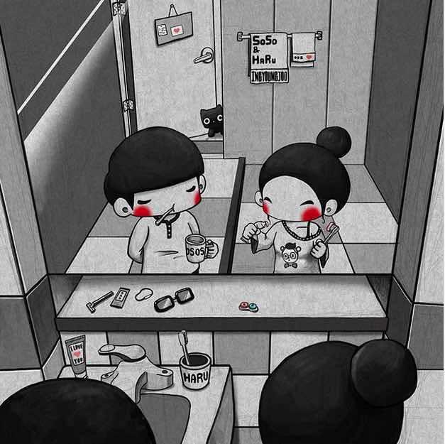 illustrazioni amore