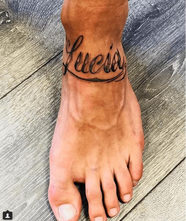 filippo contri e il tatuaggio per lucia orlando
