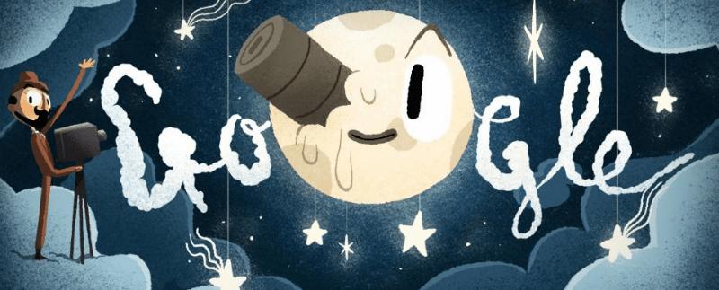 George Méliès: Google celebra con un doodle interattivo uno dei padri del cinema