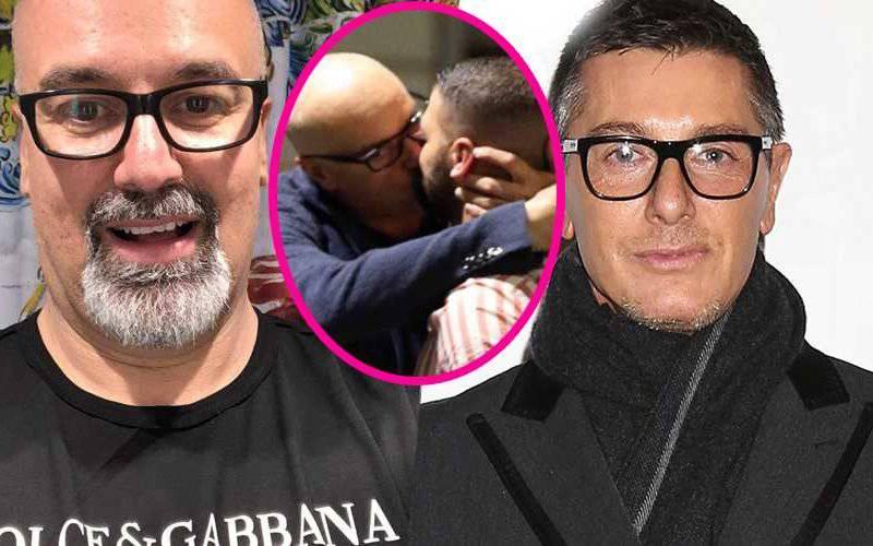 Giovanni Ciacci e Stefano Gabbana