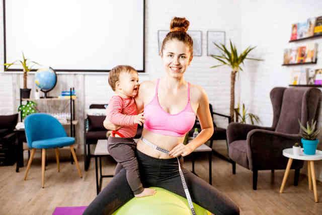 come dimagrire dopo la gravidanza?
