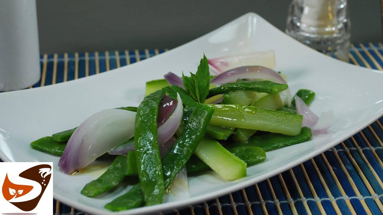 Insalata di zucchine e fagiolini, un gustoso contorno estivo