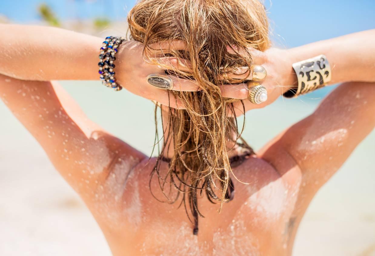 Il mare ti rovina i capelli? Ecco il rimedio