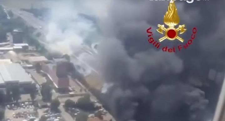 incendio Bologna
