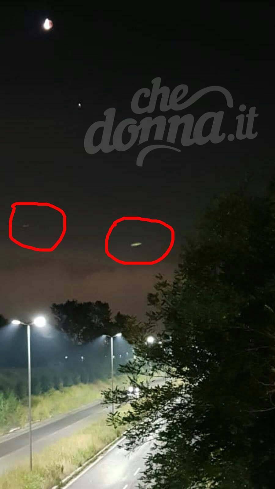 eclissi luna ufo