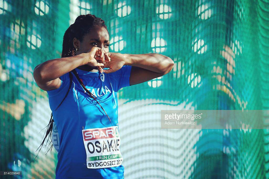 Daisy Osakue - Foto tratta da Getty Images