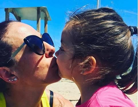 Mamma Marta con la piccola Clarissa - Instagram Ufficiale