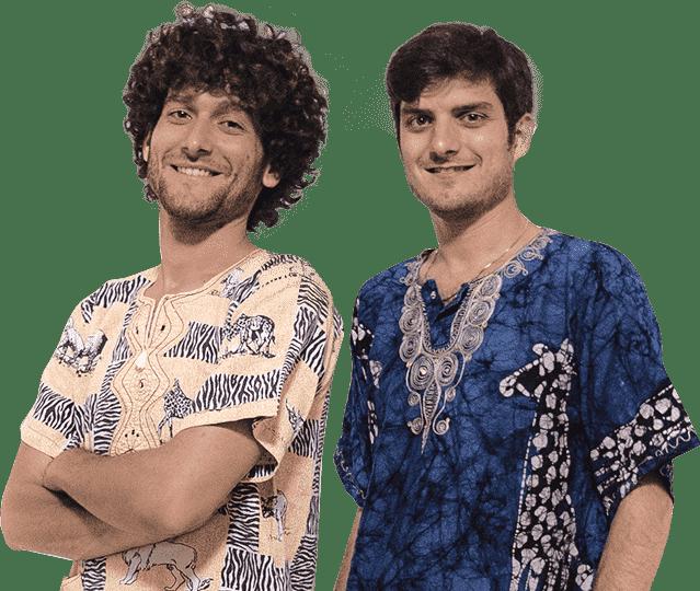 Fabrizio e Claudio Colica coliche pechino express 2018