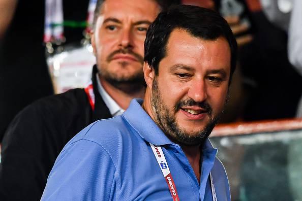 Matteo Salvini taser