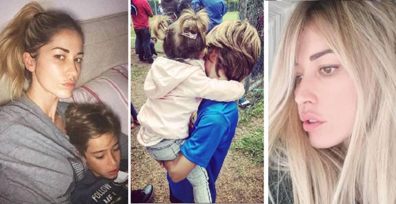Elena Santarelli dolore malattia figlio Giacomo