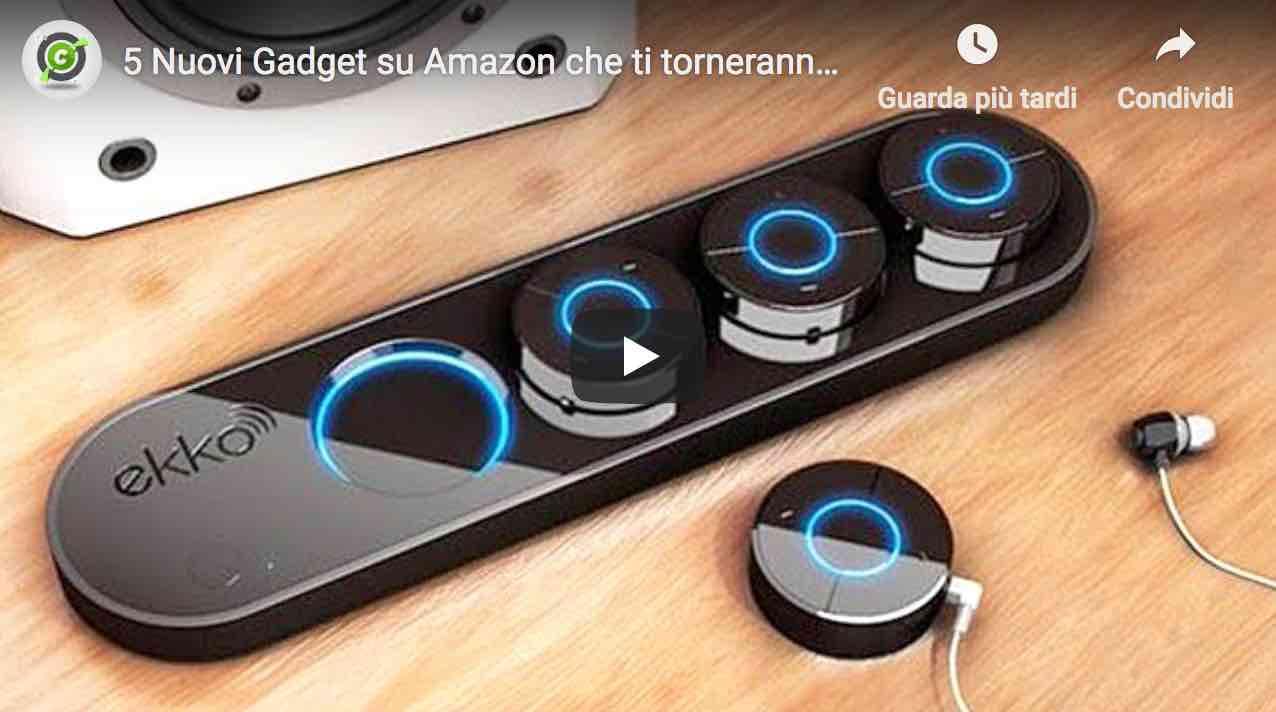amazon 5 gadget consigliati