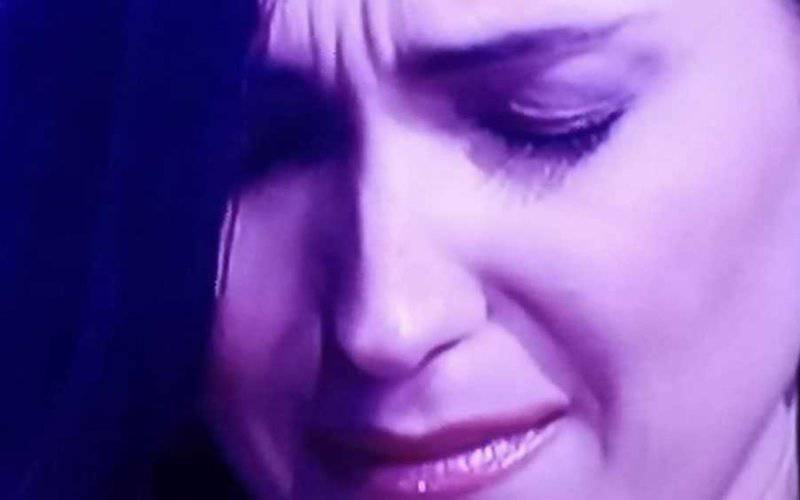 caterina balivo piange a vieni da me
