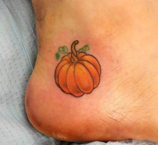 pumkpin tattoo