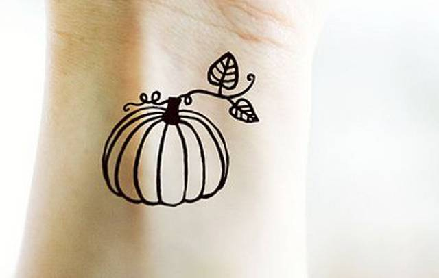 pumpkins tattoo