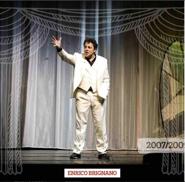Enrico Brignano tatro