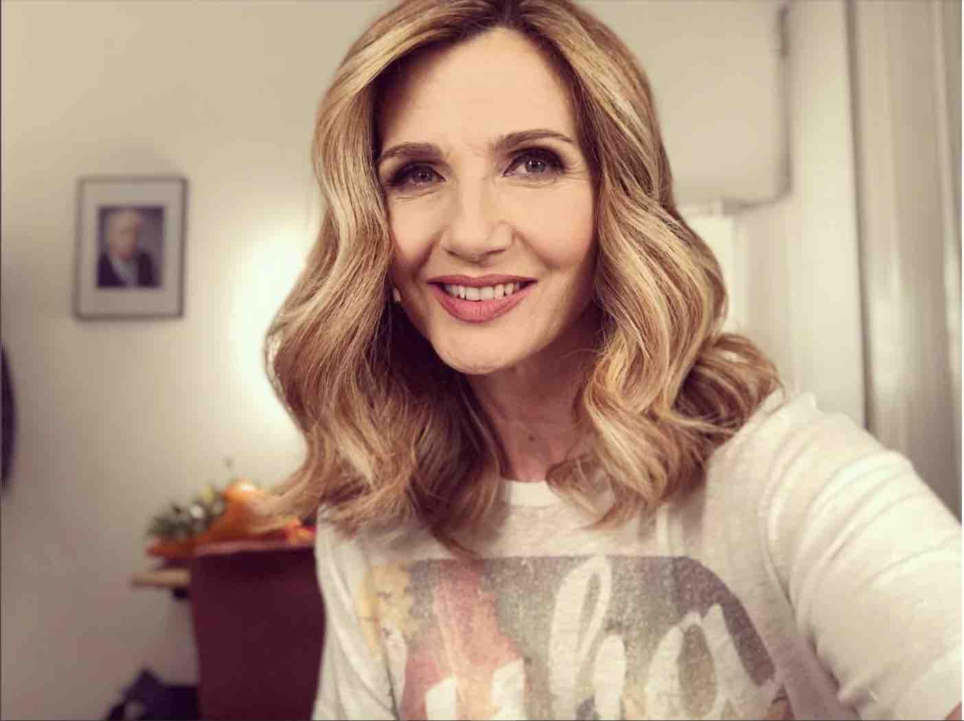 Lorella Cuccarini oggi