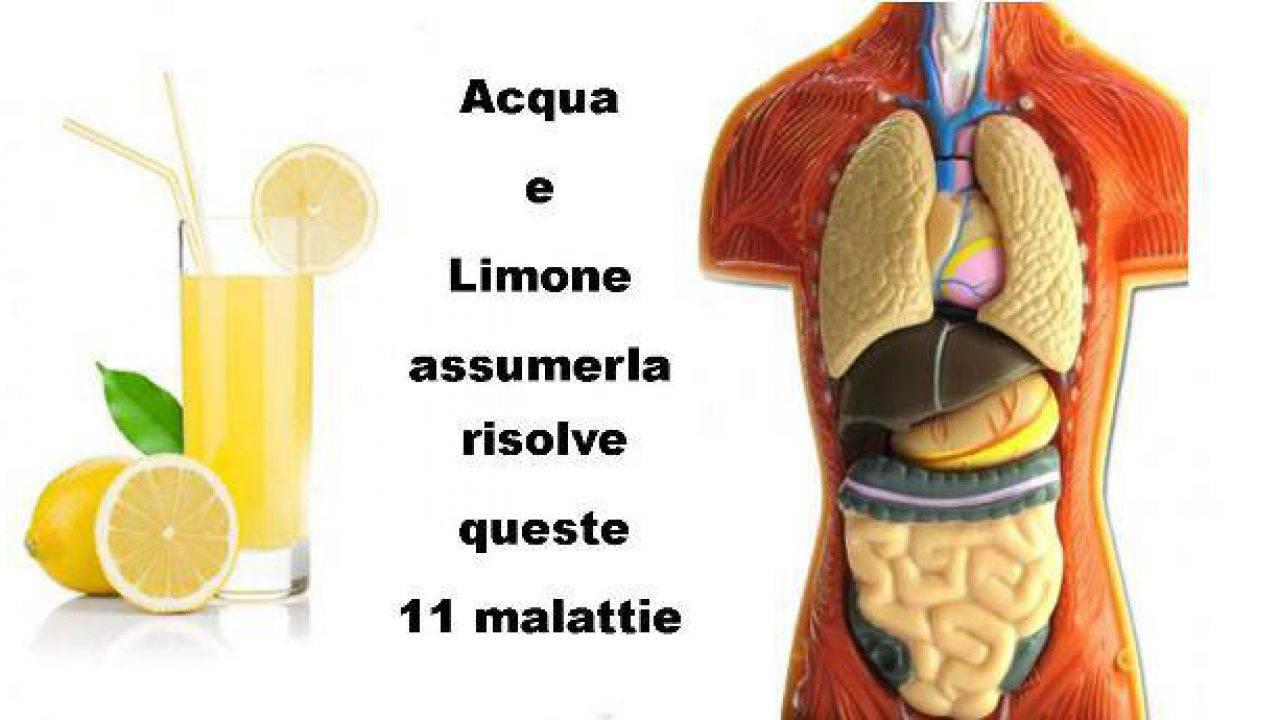 succo di limone stomaco vuoto