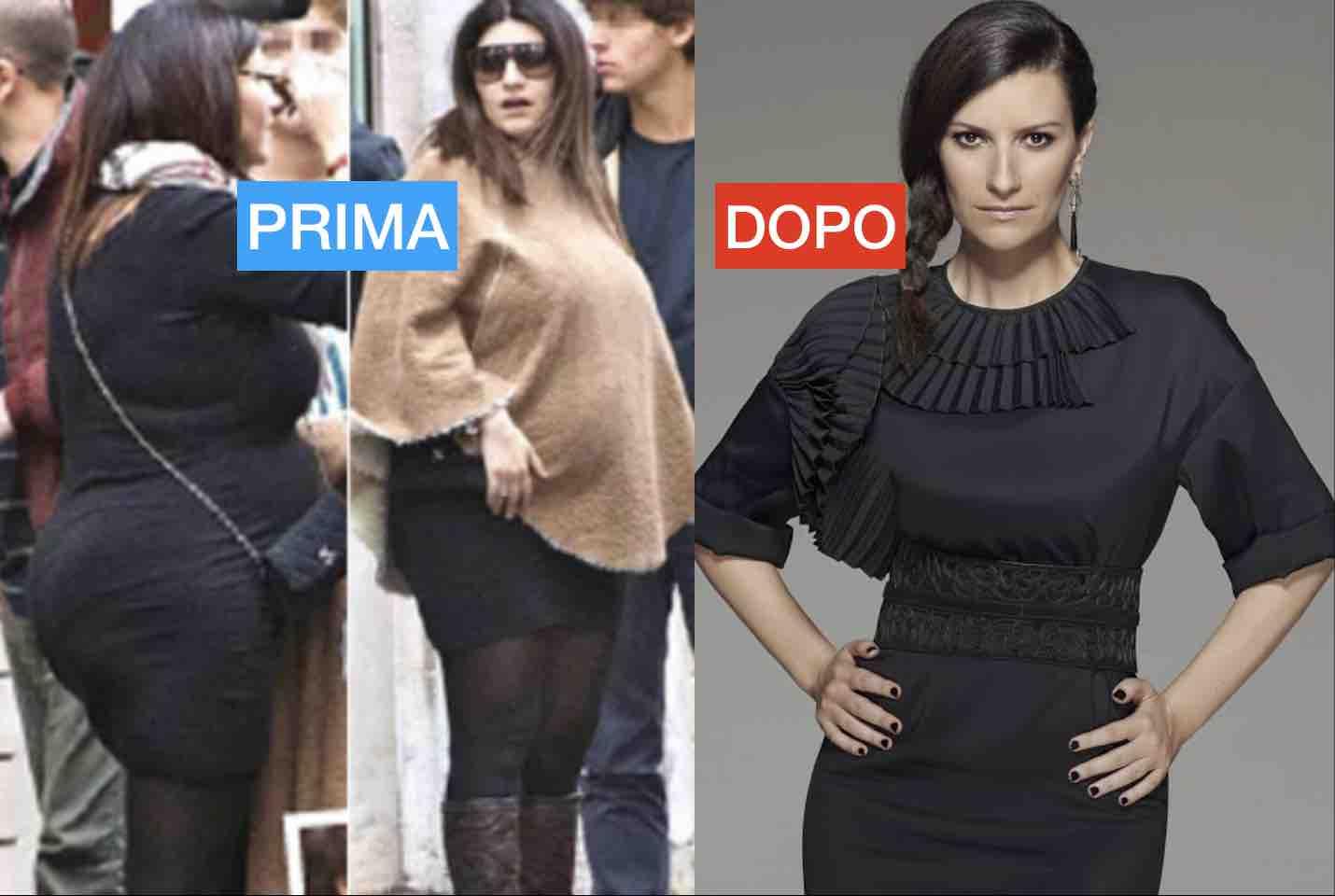 Dieta Laura Pausini 20 kg