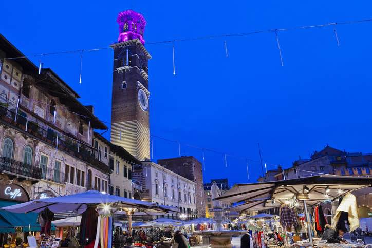 mercatino natale Verona
