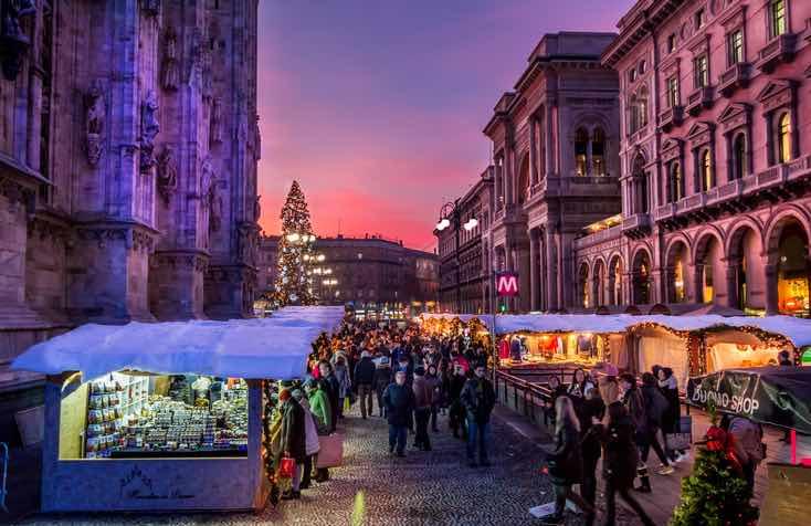 mercatino natale milano