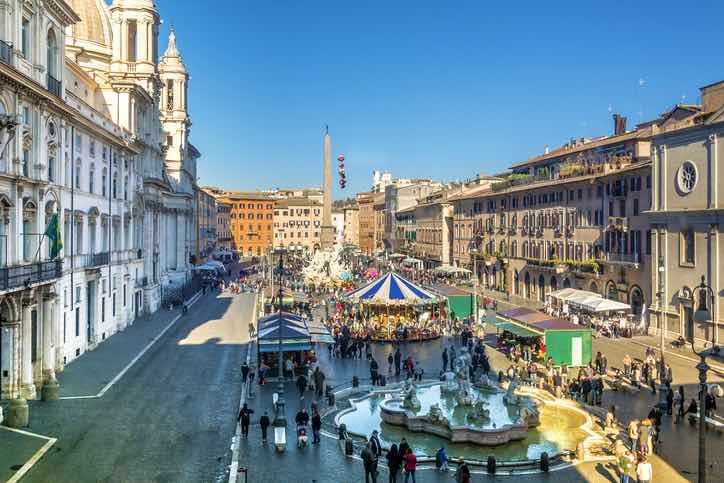 mercato natale roma