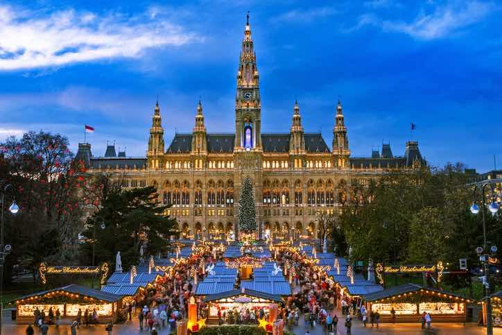 mercato natale Vienna