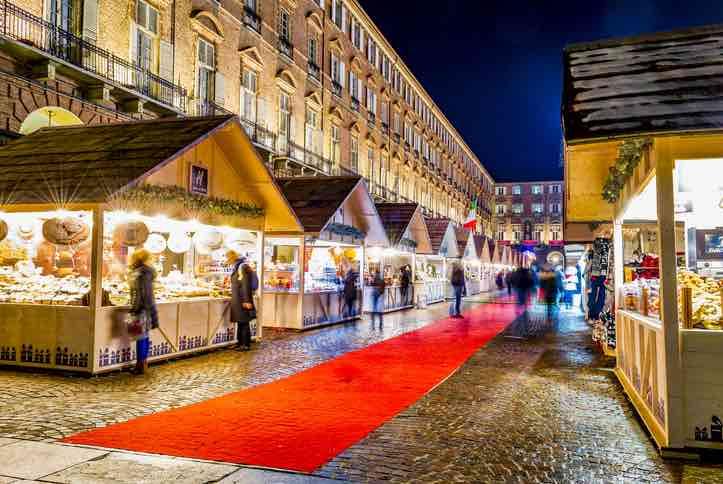 mercatino natale Torino