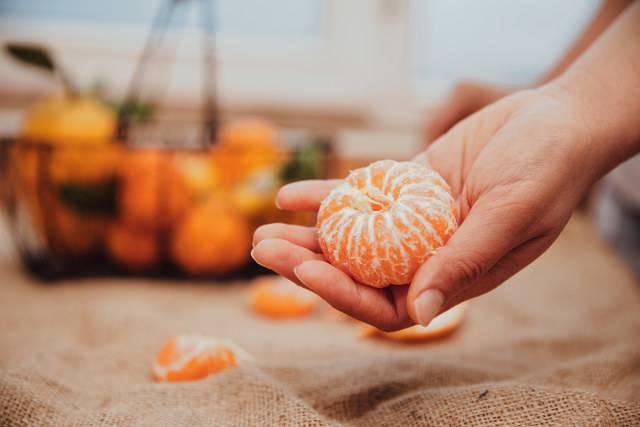 dieta mandarino
