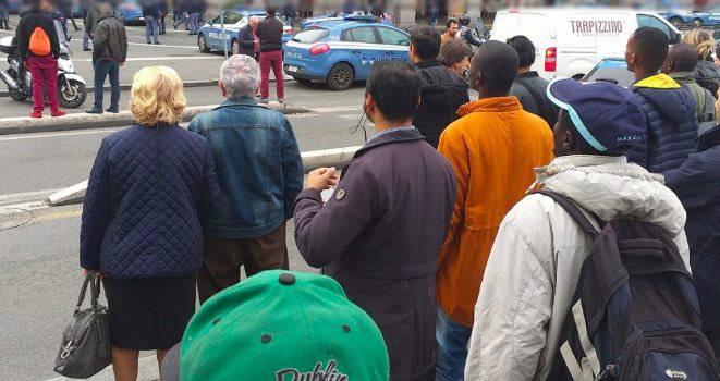 sparatoria roma termini oggi