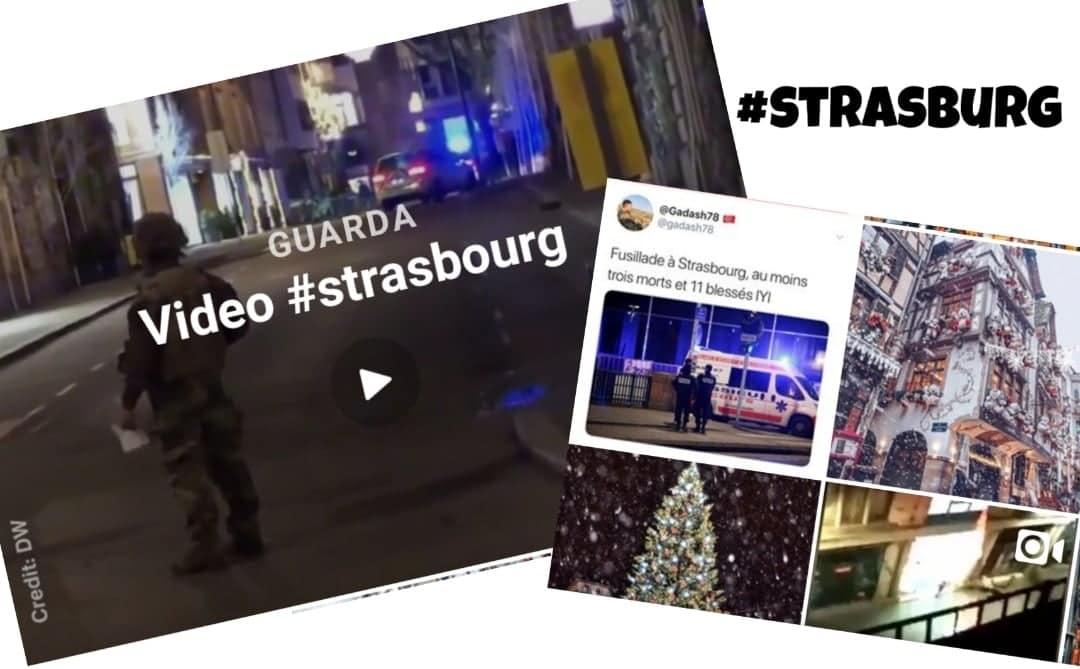 Attentato Strasburgo: la solidarietà dei social