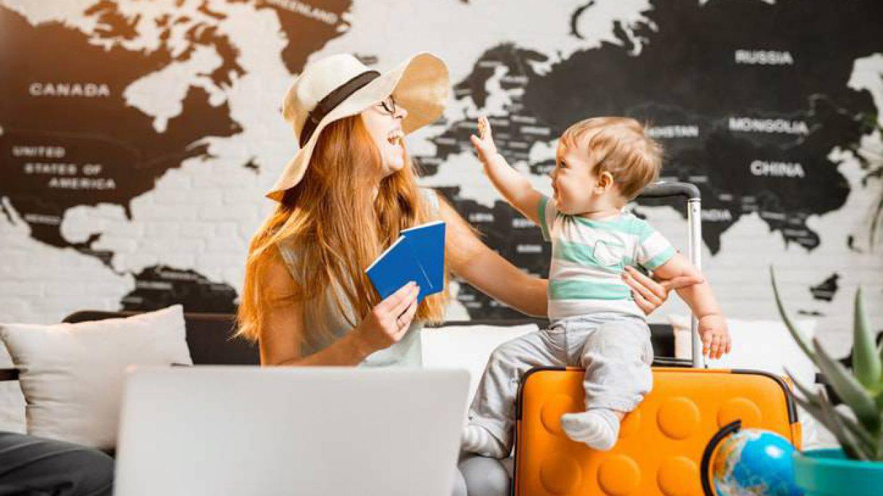 In vacanza con il neonato: come organizzarsi per una vacanza