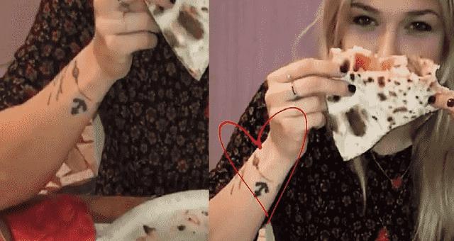 benedetta mazza tatuaggio