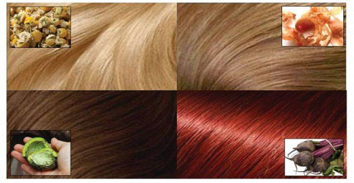 Ingredienti naturali per colorare i capelli senza il minimo effetto  collaterale! 1. Gusci di noce verde per capelli castani ab9c25966fb2