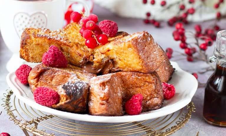 french toast riciclo pandoro
